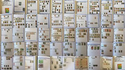 £££ Collection timbres stamps / Uruguay - forte valeur - 50 photos