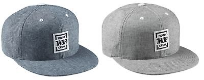 Thor MX Adult Crew Snapback Hat One Size Fits Most All Colors
