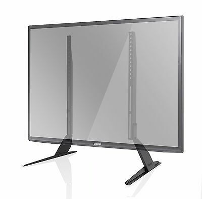 "Universal TV Stands LCD LED Flat Screen Table Pedestal Monitor Riser for 37""-65"""