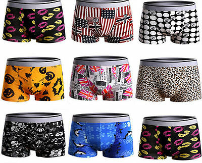 Boxer Shorts Crosshatch Trunks Hot Boxers Designer Gift Mens Underwear New