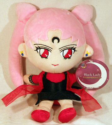 Sailor Moon Figur Plüsch Puppe Black Lady Neu