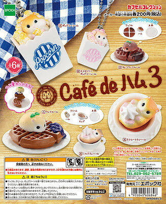 Epoch Capsule Animal Hamster Cafe de ham Part3 Completed Set 6pcs