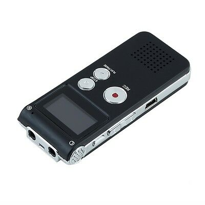8GB CL-R30 650Hr Digital Voice Recorder Dictaphone with U Disk Function LKAN