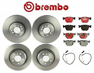 For BMW E53 X5 4.6is 4.8is Set of Front Left /& Right Brake Disc Rotors Brembo