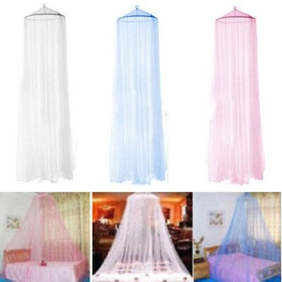 Stopping Mosquito Net Dome Netting Round Lace Bed Curtain Outdoor Bedroom