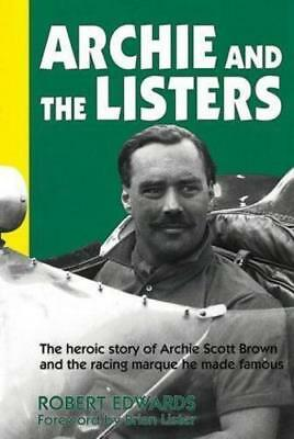 """ARCHIE & THE LISTERS: Racing Marque He Made Famous book """"NEW"""""""