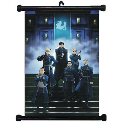 sp210684 FullMetal Alchemist Japan Anime Home Décor Wall Scroll Poster 21 x 30cm