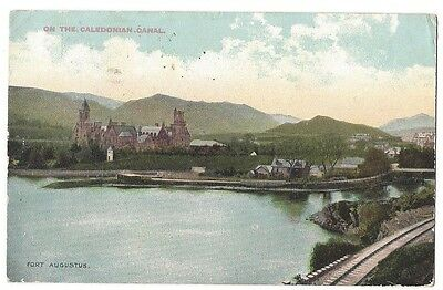FORT AUGUSTUS On the Caledonian Canal, Postally Used Postcard 1904, Unused