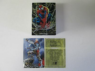 Marvel Masterpieces 1992 Jusko Autographed Card And Set W/coa Mint Set In Case