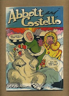 Abbott and Costello #9 (Q) St. John Comics 1950 Golden Age (c#11033)