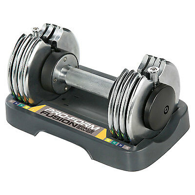 ProForm SpaceSaver 25 Pounds Single Adjustable Dumbbell with Tray | PFSAW12514