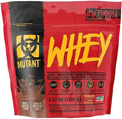 Pvl Mutant Whey 2.2Kg - 4.5Kg Extreme 5-Stage Multi Whey Protein Powder For Mass