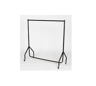 6Ft Heavy Duty Rail Clothes Garment Dress Hanging Display Stand Rack