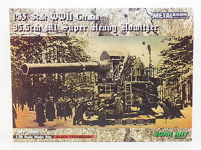 SOAR ART 35002  GLOW2B 1:35 WWII German 35,5cm Super Heavy Hovitzer