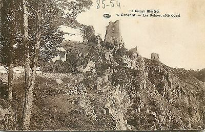23 Crozant Ruines Cote Ouest