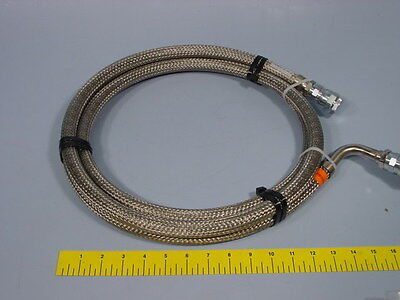 CTI 8043074G120 265-16 NTB CryoLine Pressurized Stainless Steel Hose