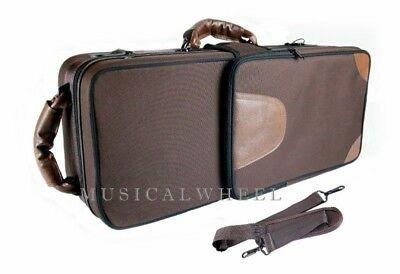 CASE for Alto Saxophone -  BROWN - Case ONLY