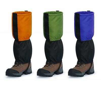 1 Pair Outdoor Waterproof Snow Legging Gaiters Boots Covers Climbing Hiking New