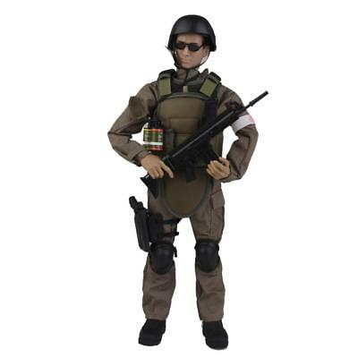 """1/6 Military Army Combat Medical Soldier NB04A 12"""" Action Figure Model Toy"""