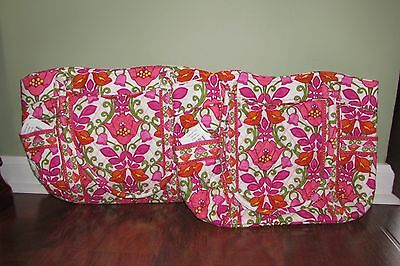 Vera Bradley LILLI BELL Retired Large Versatile Shoulder CAMPUS TOTE Purse  - NWT 29697e572ed2a