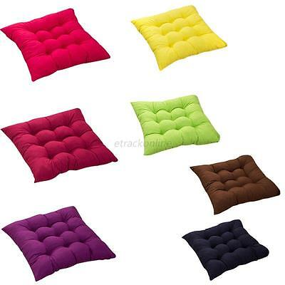 40x40CM Square Seat Cushion Pillows Sofa Chair Pads Outdoor Dining Home Decor