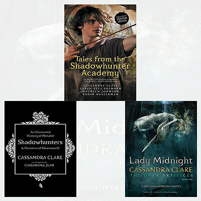 Cassandra Clare Collection 3 Books Set NEW Tales from the Shadowhunter Academy