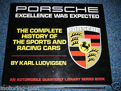 Porsche Excellence Was Expected Ludvigsen 356 907 924 917 914 908 Rsr Rs R Rare