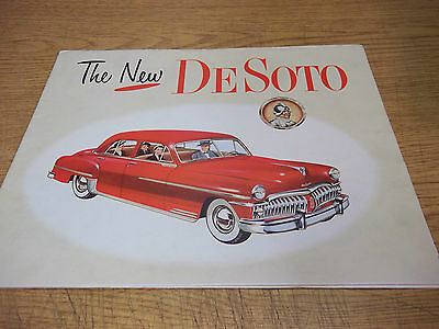 1950 DeSoto Dealer Brochure, multifold