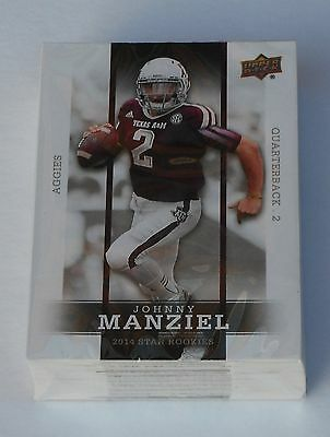 Upper Deck 2014 Football Star Rookies Trading Card Set New & Sealed