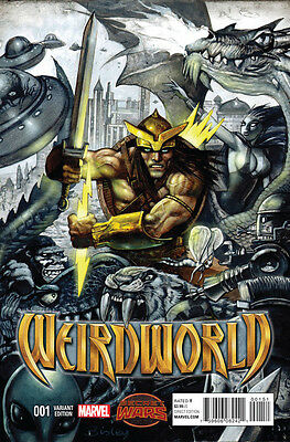 Weirdworld (2015) #1 1St Print Vf/nm Variant Bisley Secret Wars