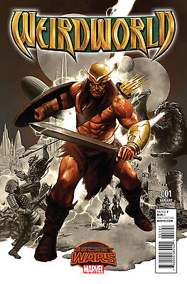 Weirdworld (2015) #1 1St Print Vf/nm Variant Epting Secret Wars