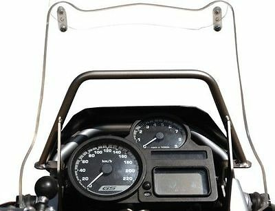 BMW R1200GS to Bj. 2012 TOURATECH GPS-Bracket adapter Tube bar over Instruments