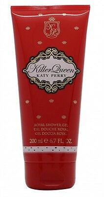 Katy Perry Killer Queen Shower Gel 200Ml - Women's For Her. New. Free Shipping