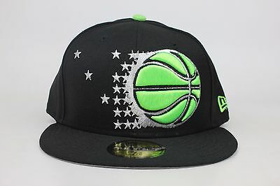 size 40 c1a33 ae85c Orlando Magic Black   Green Metallic Silver Logo NBA New Era 59Fifty Fitted  Hat