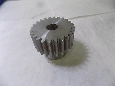 "Browning 1219419 Spur Gear Steel 24 Tooth 3"" Hub Diameter 4"" Pitch Dia 2"" Face W"