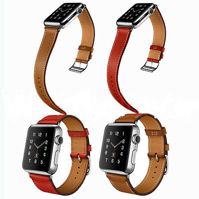 Leather Strap Single Tour Band Strap Bracelet for Apple Watch  Series 2/1 New