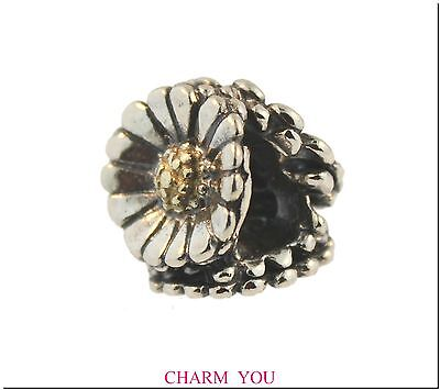 Authentic Trollbeads Sterling Silver Daisy