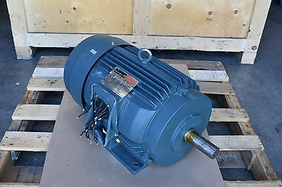 Reliance 20 HP Electric Motor P25F372 256T Frame 3PH 208/230/460V 3505