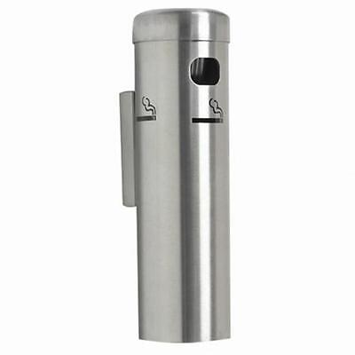 Aarco Products SS15W Wall Mounted Cigarette Receptacle Satin