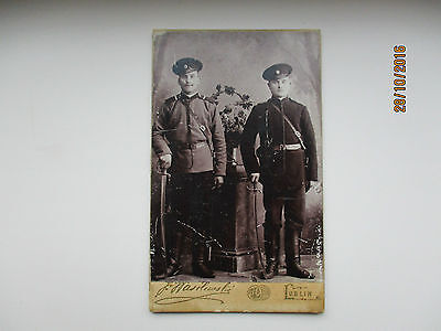 Russia Poland Lublin  Cdv , Soldiers With Swords, 0