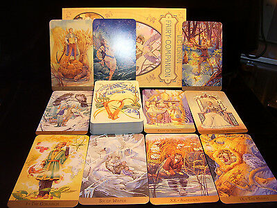 Brand New & Sealed! Victorian Fairy Tarot Card & Book Oracle Lore Timeless Magic