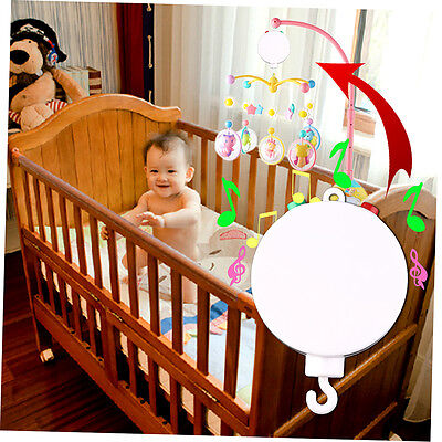 New Baby Crib Mobile Bed Bell Toy Holder Arm Bracket with Wind-up Music Box LK
