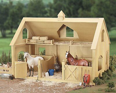 Breyer 302 Deluxe Wood Barn w/ Cupola Traditional Series 1:9 Scale Model Horse