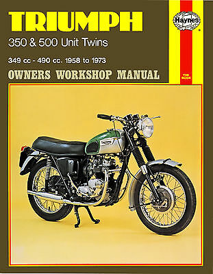 Haynes Manual 0137 - Triumph 350 & 500 Unit Twins (58 - 73)