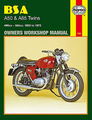Haynes Manual 0155 - BSA A50 & A65 Twins (62 - 73) Cyclone, Star Twin, Spitfire