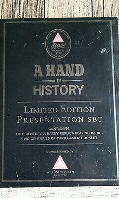Bass Ale - A Hand in History Limited Edition Presentation Set - Playing Cards