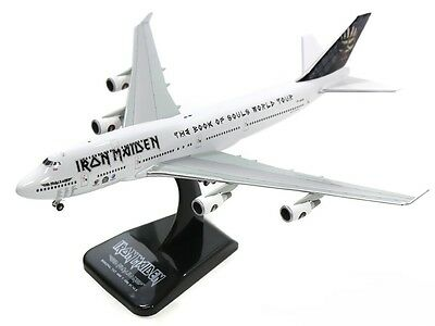 Hogan HG40090 Iron Maiden B747-400 Ed Force One TF-AAK Diecast 1/400 Jet Model