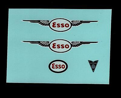 Crescent 1276 Scammell Scarab Esso Tanker Transfers/decals