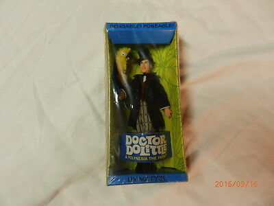 Mattel Doctor Dolittle and Polynesia the Parrot - Bendable / Poseable
