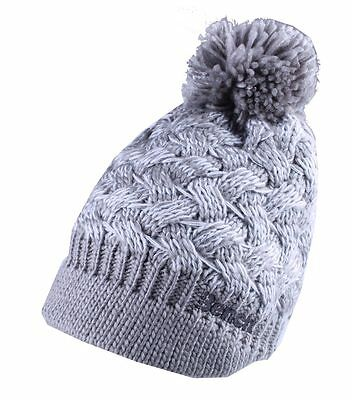Bench Womens Seedpearl Acrylic Kuddle Bobble Beanie Winter Hat /& Scarf Set NWT